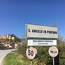 Sant'Angelo in Pontano in MTB e E-bike