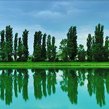 Falconara Marittima e il fiume Esino