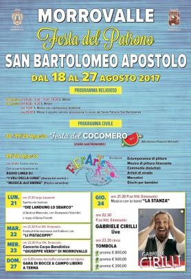 FESTA DI SAN BARTOLOMEO APOSTOLO