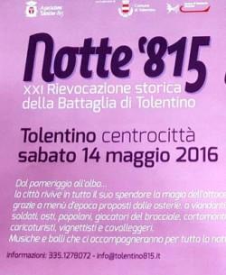 NOTTE '815