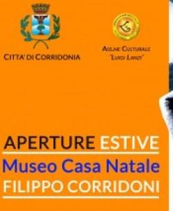 APERTURE ESTIVE MUSEO CASA NATELE FILIPPO CORRIDONI