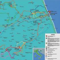 Scarica la mappa sul cicloturismo