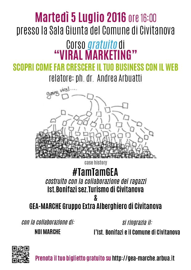 CORSO GRATUITO VIRAL MARKETING